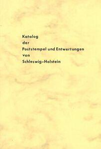 Katalog der Poststempel und Entwertungen von Schleswig-Holstein (1973)