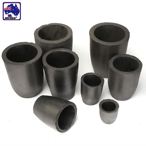 1/2/4/5/6/8/10/12 KG Graphite Foundry Crucible Melting Refining Tool TYCT539