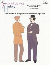 Schnittmuster RH 923: 1880s-1930s Morning Coat