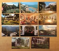 Lot of 11 Vintage Postcards ALL NEWSTEAD, PAGET, BERMUDA