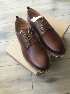 Mens New Clarks Gantry Walk -Brown Shoes-Size 8 G Fitting