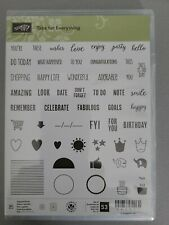 Stampin Up Tabs For Everything Stampset