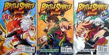 FUMETTO MANGA BATTLE SPIRITS BASHIN SEQUENZA 1-3 GP