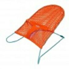 New Mesh Baby Bouncer Rocker Safety Harness Tangerine Play Sleep