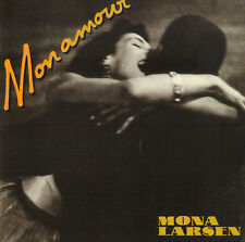 MONA LARSEN ‎– MON AMOUR (1988 POP/ROCK CD DENMARK)