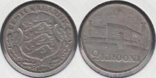 ESTONIA - EESTI. 2 KROONI DE 1930. PLATA 0.500.