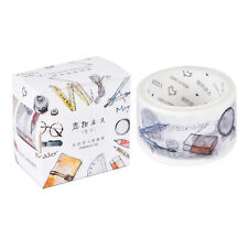 Daily Study Tools Washi Tape DIY Paper Sticky Tool Adhesive Sticker Decor zhu