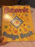 Girl Guiding Obsolete Brownie Badge Book (2003 Edition)