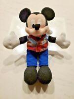 "8"" Mickey Mouse Disney Parks Cast Member Uniform Employee Plush Toy"