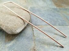 Copper Hair Fork Handcrafted