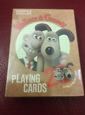Wallace And Gromit 20 Years Playing Cards Game Marks & Spencer Aardman