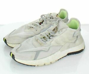 18-37 Women's Sz 8 M Adidas Nite Jogger Suede & Fabric Lace Up Running Sneakers