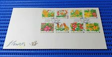 1998 Singapore First Day Cover Singapore Flowers Commemorative Stamp Issue