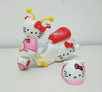 Rare Club Hello Kitty Kids Child's Toy Doll Vehicle Scooter Moped & Helmet Set