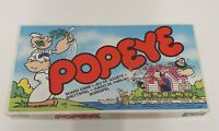 Popeye the Board Game - COMPLETE Vintage board game - boxed rare. B14