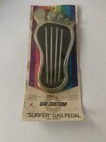Vintage Cal Custom Surfer Gas Pedal MOC 1970's Hot Rod Rad Racer NOS
