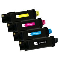 4 Pack Toner Cartridge for Xerox Phaser 6510DN 6510DNI WorkCentre 6515DN 6515DNI