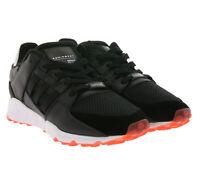 adidas Originals EQT Support RF Turn-Schuhe Sneaker Damen mit Echtleder Schwarz