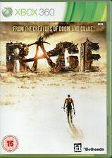 Xbox 360 - Rage (Microsoft Xbox 360, 2011)