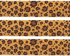 Safari Leopard Edible Image Design Strips Frosting Sheet