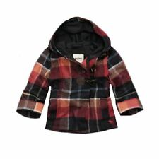 Abercrombie & Fitch Gretchen Plaid Jacket Girl's L/Xl $180