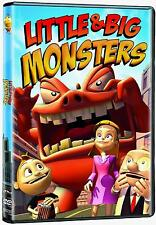 Little & Big Monsters (DVD)  animation  NEW