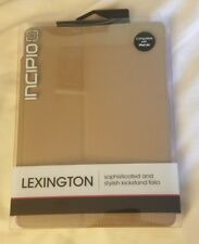 Incipio Lexington Sophisticated Kickstand Folio Case for iPad Air Brown/Pink