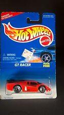 Hot Wheels GT Racer Orange Large Spoiler Metal Base Die-Cast 1:64 Collector #468