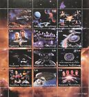 STAR TREK DEEP SPACE NINE STAMPS SHEET 2001 NEXT GENERATION FAUX ISSUE SCI-FI #2