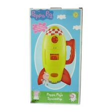 Peppa Pig Toy Spaceship Rocket With Phrases & Sound Effects Age 3+ New