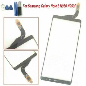 Front Touch Screen + Digitizer Glass Lens For Samsung Galaxy Note 8 N950/F Black