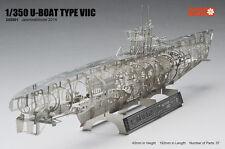 205001 1/350 WWII U-BOAT TYPE VIIC Full Structure PE Model U BOAT Jasmine Model