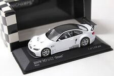 "1:43 Minichamps BMW M3 (E92) GT2 ""STREET"" white 2009 NEW bei PREMIUM-MODELCARS"