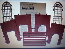 DPM Powerhouse Windows HO Scale Building Kit Model Trains Diorama #30118