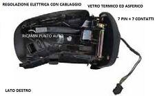 SPECCHIO RETROVISORE ELETTRICO DESTRO 801585 MERCEDES CLASSE C CL203 SPORT 01 04