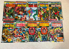 HUGE LOT of 100 BRONZE AGE Comic Books -- ALL MARVEL -- ETERNALS -- Lot A