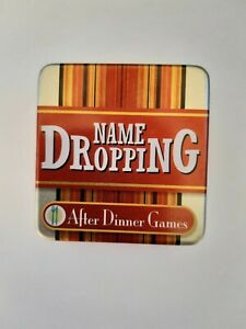 After Dinner Games - NAME DROPPING