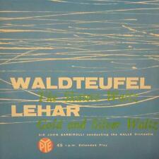 "Waldteufel/Lehar(7"" Vinyl)The Skaters Waltz/Gold And Silver Waltz-Pye-CEC 32005-"