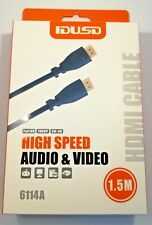 CABLE 1.5m USB HDMI TO HDMI MACHO MALE PS3 XBOX LED LCD SETBOX DVD-T