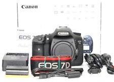 Canon EOS 7D 18.0MP Digitalkamera DSLR Body Gehäuse 20441 Auslöser