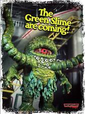 "Monstarz ""The Green Slime"" retro action figure Japan Sci-Fi classic!"