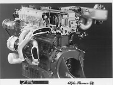 1987 ALFA ROMEO 75 TWINSPARK 2.0 MOTOR ENGINE PRESS FACTORY PICTURE BILD