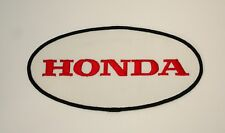 "7+"" Honda Automotive Service Motorcycle Cloth Back of Jacket Patch New NOS 1970s"