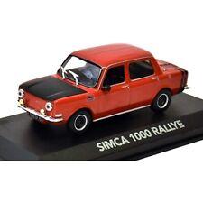 Simca 1000 Rallye 1:43 Diecast Coche Atlas