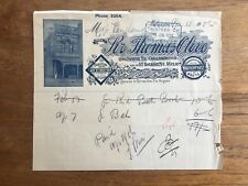 1906 SIR THOMAS OLIVE SMITH ST COLLINGWOOD MELBOURNE WAULKENPHAST RECEIPT P57