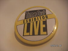 TIME OUT EXHIBITOR LIVE PICTURE BADGE