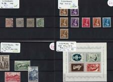 LUXEMBOURG: 1933-1956 Collection Used & Unused Examples - 8 Stock Cards (33359)