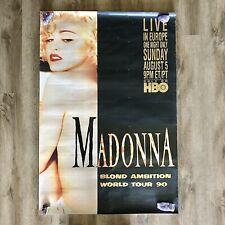 MADONNA EXPRESS POSTER! Limited Rare Promo NOT Madame X Tour CD Vinyl DVD SEX