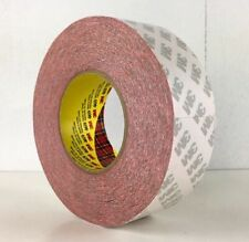 New listing New 3M 469 Double Coated Tape 2 Inches x 60 yd Yards Red Adhesive Roll