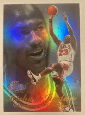 1998 Flair Showcase Michael Jordan Refractor #231 Chicago Bulls